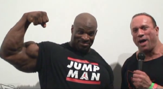 Ronnie Coleman Video Interview in NYC at NPC Atlantic States!