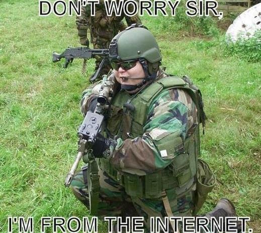 Night Vision Goggles with Modern Warfare 2