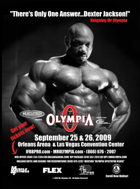 Olympia 2009 promotional posters
