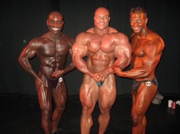 Phil Heath guestposing in Colorado State Bodybuilding