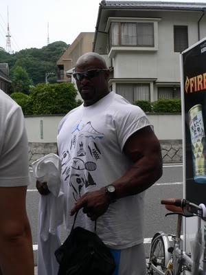 Ronnie Coleman: New Pics Hiroshima this week!