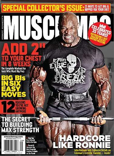 Musclemag September 2009: Issue preview