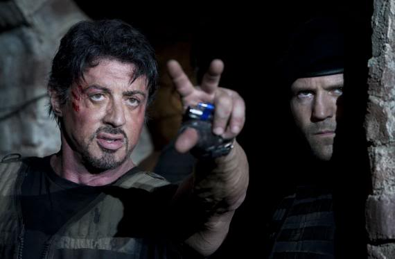 "New Pics From Stallone's: ""Expendables"""