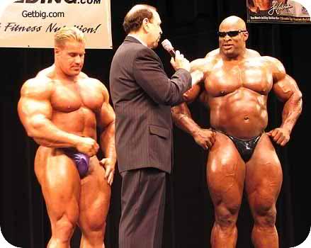 Ronnie Coleman & Jay Cutler guest posing