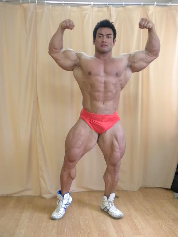 Hidetada Yamagishi - 8 weeks out from Mr Olympia