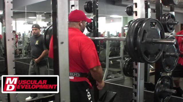 Road to the Tampa Bay Pro: Fouad Abiad trains legs