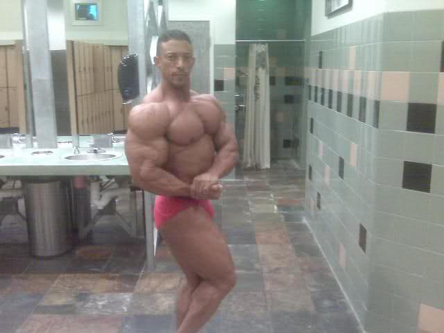 Troy Alves 4 weeks out from the Atlantic City Pro