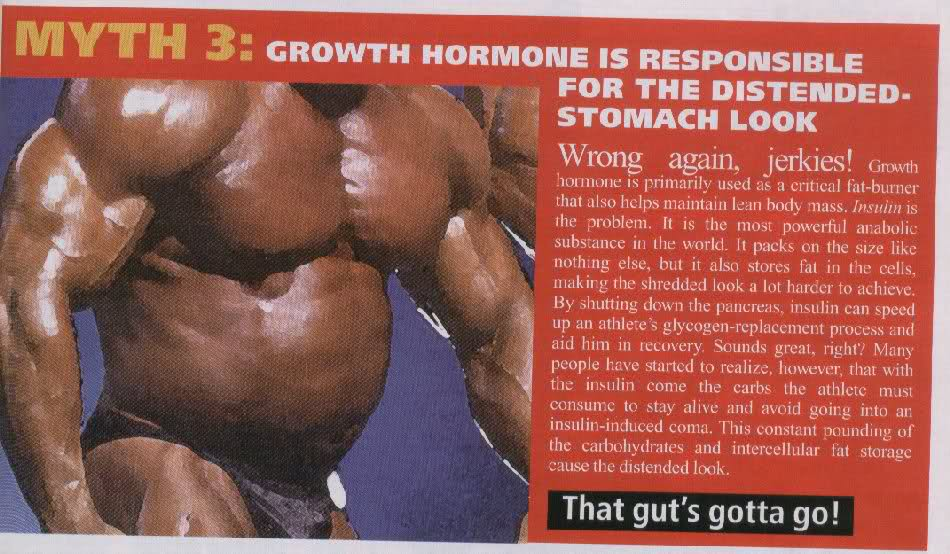 """What causes the """"roid gut"""""""