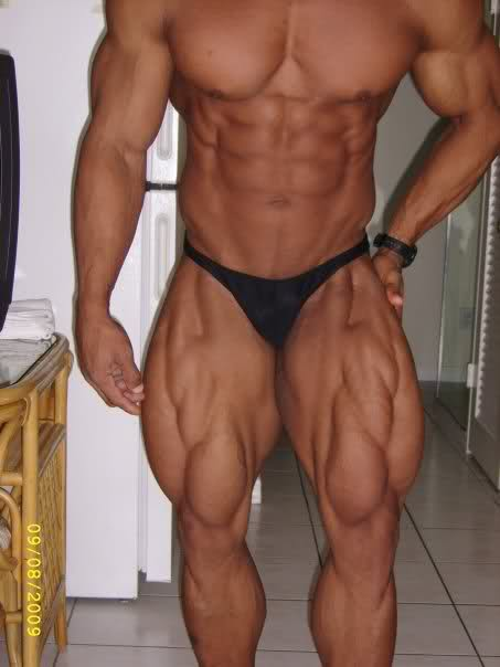 Manuel Romero 5 days out from the 2009 Europa Super Show