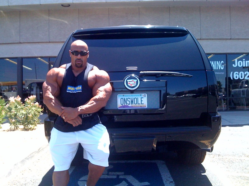 Dennis James one week out