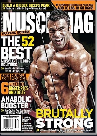 Musclemag: October 2009   ..issue preview!