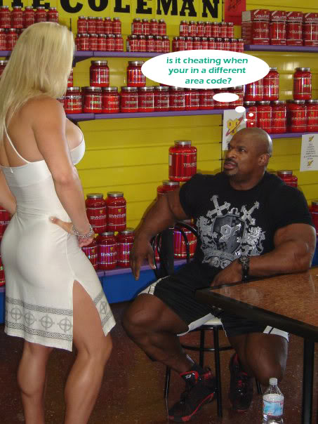 Ronnie Coleman and Marcos Chacon - Iberian Tour 09