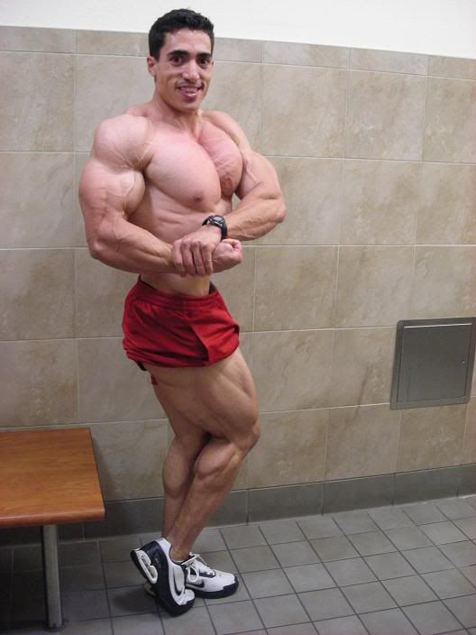 Jeff Rodriquez 5 weeks out from the 2009 NPC Team Universe