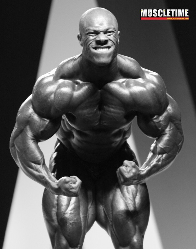 Phil Heath - 2009 Mr. Olympia Fifth Place?