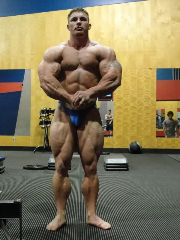 Flex Lewis - 8 weeks out from the 2009 Atlantic City
