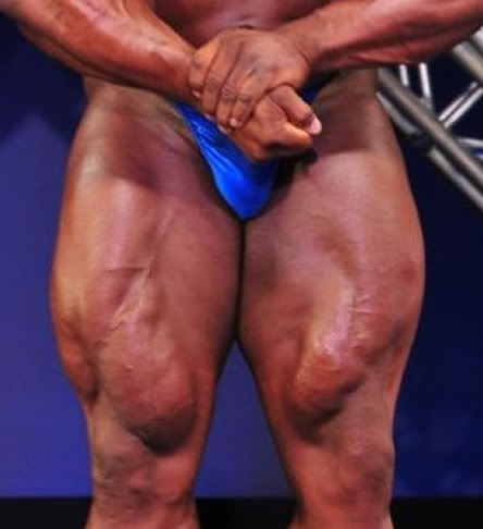 Ronnie Coleman: He looks like tear a quad too?