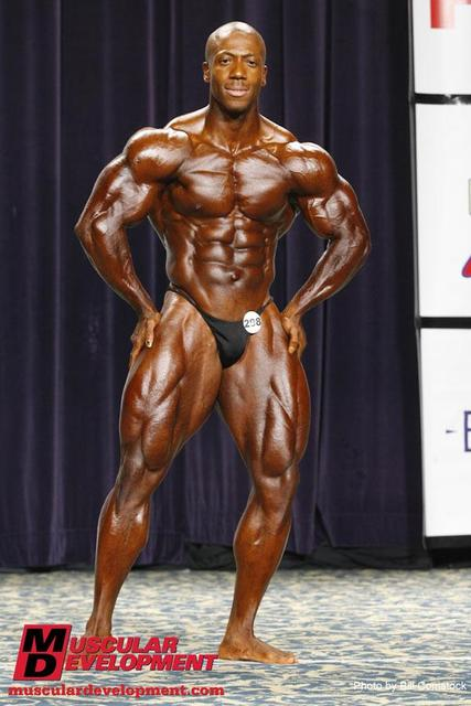 Shawn Rhoden - 2009 IFBB North American Overall Champion