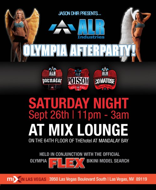 Olympia After Party Your Invited