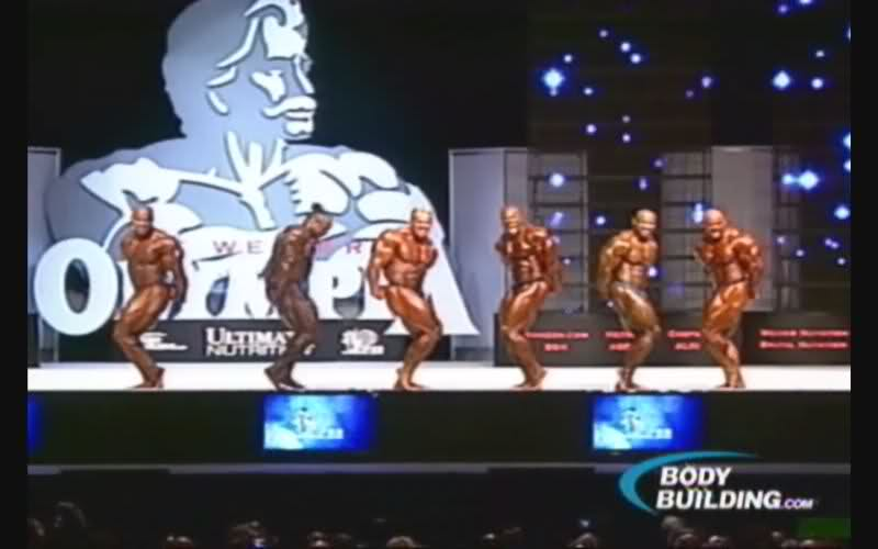 Official Finals Discussion Thread (Mr. Olympia 2009)