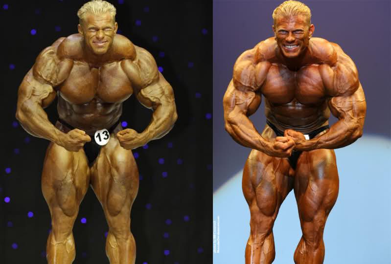 Dennis Wolf 2009 vs 2007 (Chad vs. Milos)