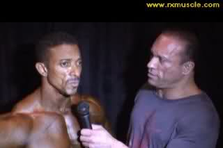 Troy Alves interview after receiving 3rd place Atlantic City