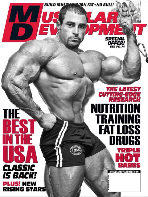 MD cover for November 2009 (Mark Alvisi)