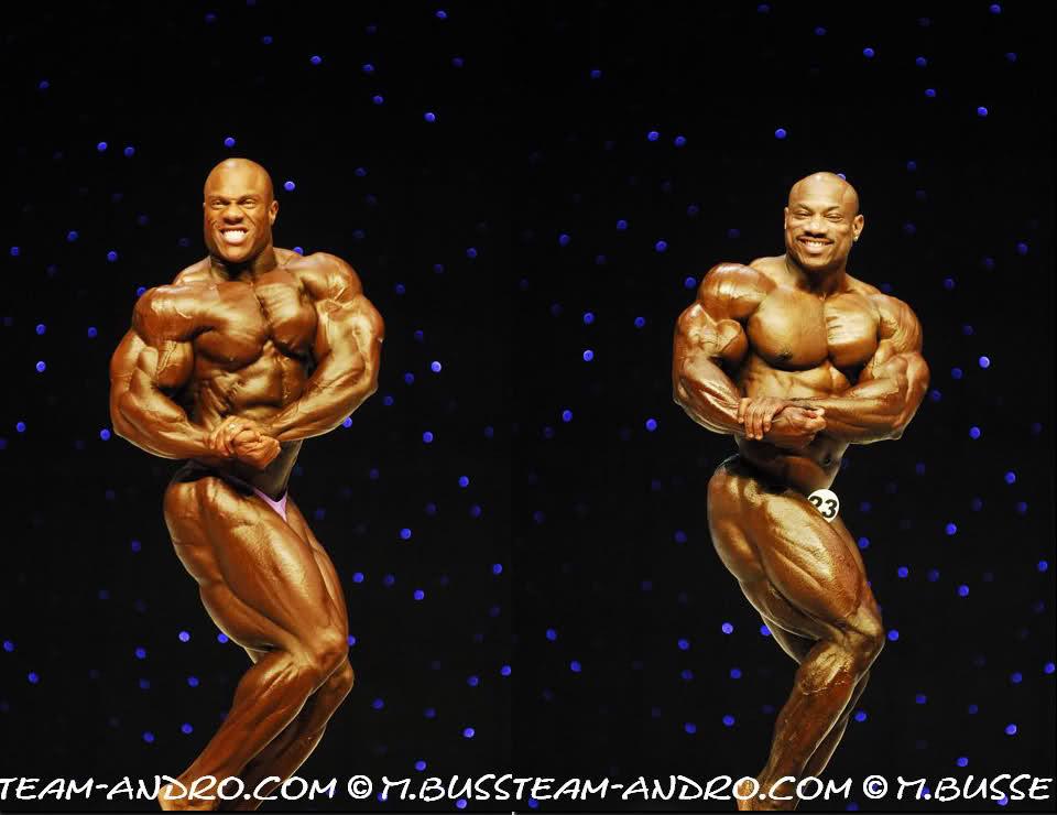 Phil Heath vs. Dexter Jackson - 2009 Mr O