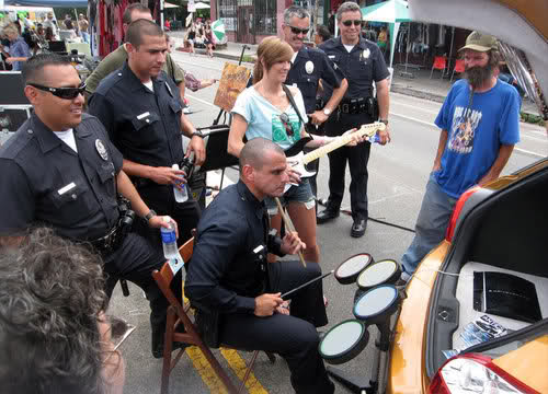 LAPD Rock Band