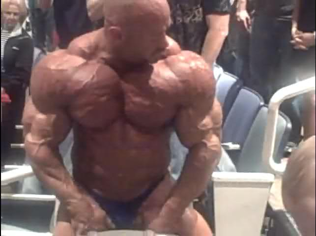 Branch Warren 2 weeks out from the O!!