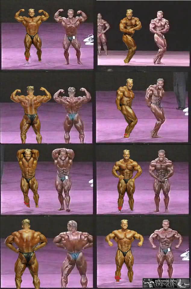 {Jay Cutler Mr Olympia 2001 vs Mr Olympia 2009}
