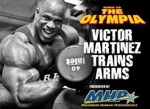 Road to the Olympia Victor Martinez: 1 Week Out from the 2009 Olympia