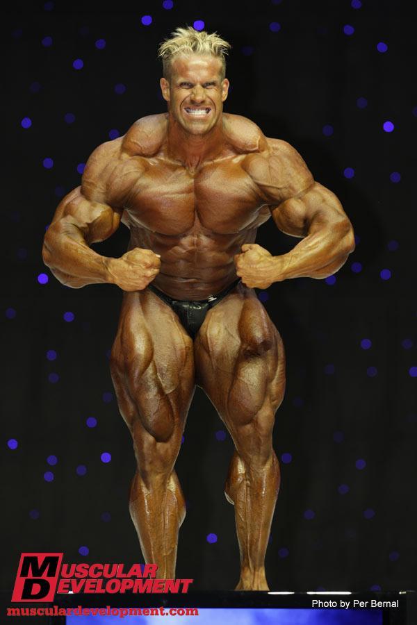 Jay Cutler 2008 vs 2009 - Olympia