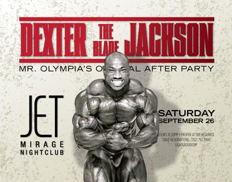 Dexter Jackson's official after party