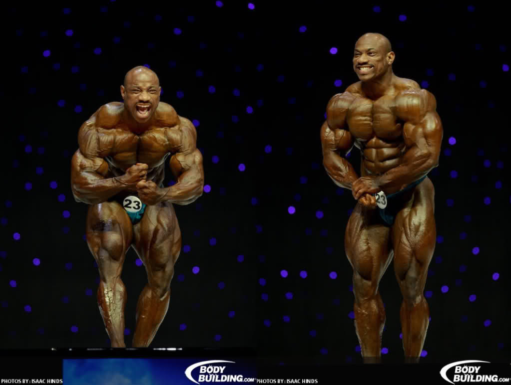 Who has the best most muscular from this year's Olympia?