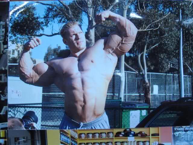Dennis Wolf - 2008 Tony Doherty's gym pic!