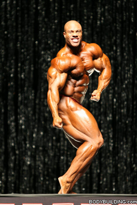 Phil Heath's thoughts on upcoming 2009 Mr Olympia