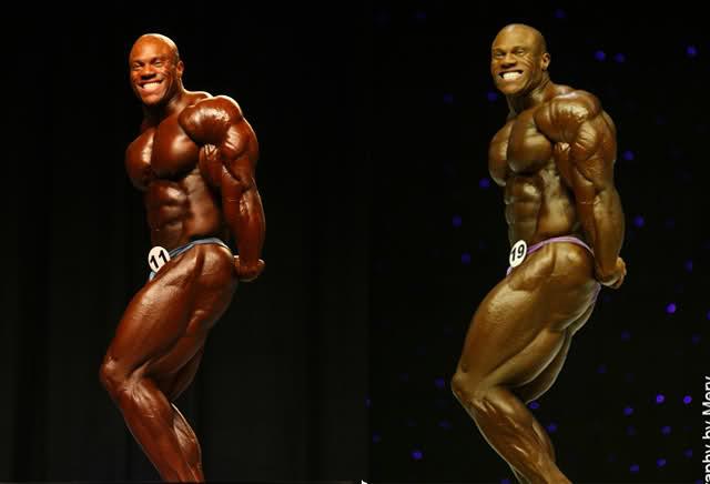 Phil Heath 2008 vs 2009 (Mr. Olympia)
