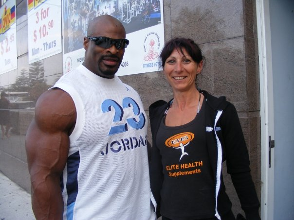 Ronnie at the IFBB Australian Championships (Pic gallery)