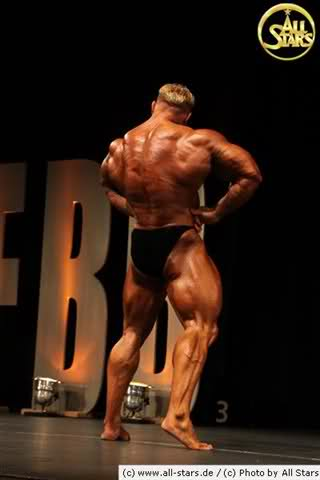 Markus Ruhl & Dennis Wolf guest posing - Swiss Championships 2009