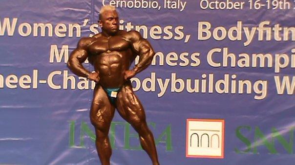 Italian Body Builder Alessandro Savi