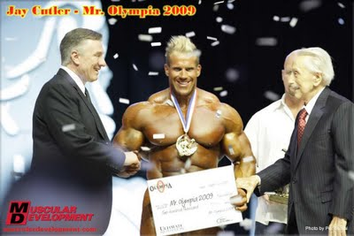Road to the 2009 Mr Olympia Jay Cutler