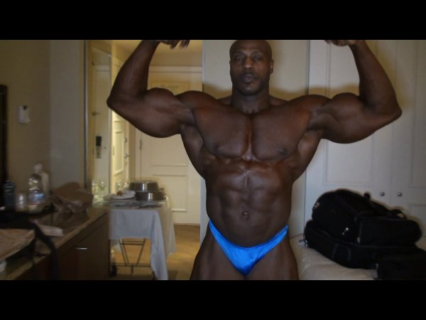 Malcolm Marshall 1 Day Prior to the 2009 NPC Nationals!