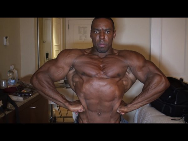 Alan Bailey 1 Day Prior to the 2009 NPC Nationals!