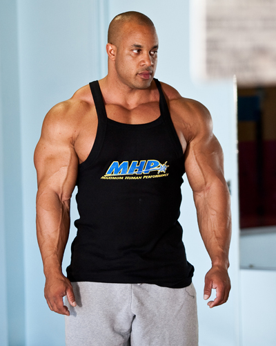 Victor Martinez and Kris Murrell posing clip - Buff Enough (bb documentary)