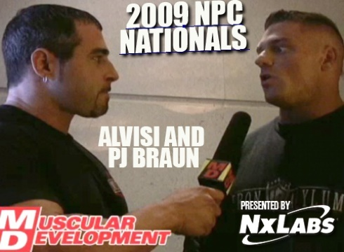Mark Alvisi and PJ Braun Talk about the Ride to the 2009 Nationals