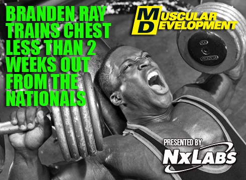 In the Trenches with Branden Ray Two Weeks from Nationals