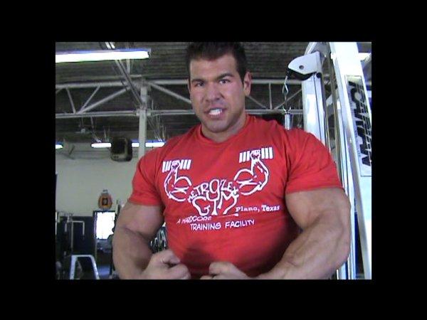Steve Kuclo Trains Arms at Metroflex Gym 2 Weeks Till 2009 NPC Nationals