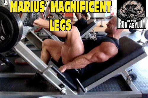 """Marius Dohne Trains """"Legs"""""""