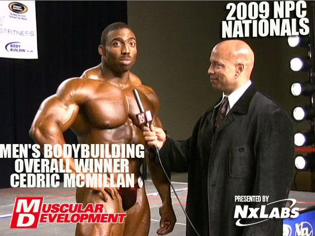 2009 Nationals Men's Bodybuilding Overall Winner - Cedric McMillan