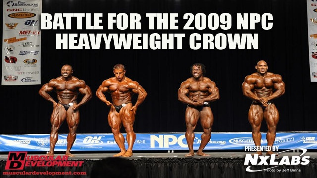 Battle for the NPC Heavyweight Crown Comparisons